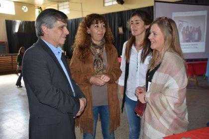 """El intendente participó de la Expo Vocacional-Ocupacional """"Chivilcoy Ofrece"""" [Video]"""