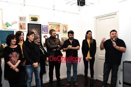 """Se inauguró la muestra de """"Colectivo Periferia"""" en Encuentro por las Artes"""