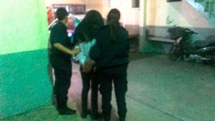 Sustrajo un celular y quedó registrado en las cámaras de seguridad del Hospital