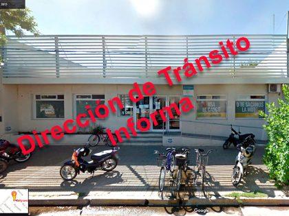 La Dirección de Tránsito presentó el informe de lo actuado en la semana del 12/12 al 18/12