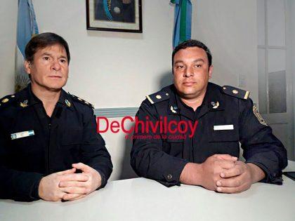 Comunicado policial: Cambio de Encargado de la Sub Estación Moquehuá