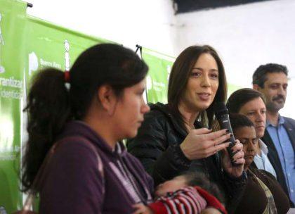 """Vidal lanzó el programa """"Garantizar tu identidad"""", para inscribir y entregar el DNI a 48 mil chicos"""