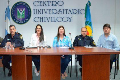La Secretaria de Seguridad realizó una charla informativa