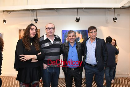 Se inauguró la muestra del Club de Arte en el Museo Pompeo Boggio