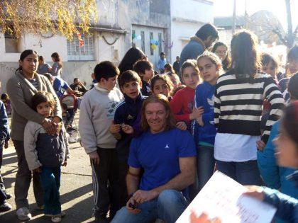 Fabio Britos recibe distinción y hay solidaridad para Chivilcoy