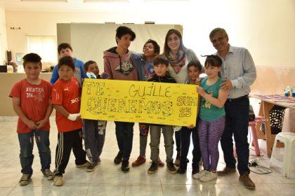 Mención especial para los alumnos del SUM 25 de mayo en un cortometraje