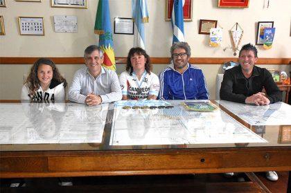 El intendente reconoció a la campeona del Panamericano Master 2017