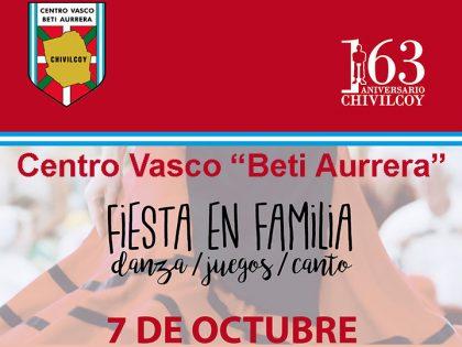 """Fiesta en familia en el """"Centro Vasco Beti Aurrera"""""""