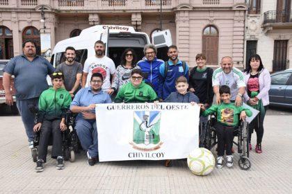 """""""Los Guerreros del Oeste"""" compiten en la Copa Buenos Aires 2017"""