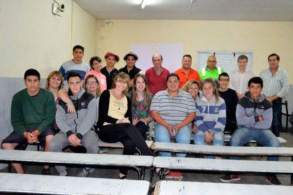 Alumnos de la Escuela Agraria presentaron el proyecto de concientización R.L.T.