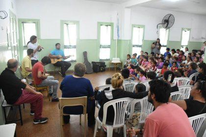 Concierto de música en el CEC Florencio Varela