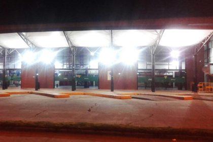 Continúan las refacciones edilicias en la Terminal de Ómnibus