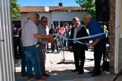 El intendente participó de la inauguración de obras en la sede de la Unión Obrera Metalúrgica