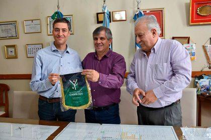 El intendente recibió al Dr. Agustín Roncagliolo