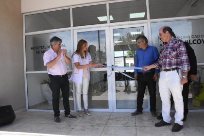 """Se inauguró el área de consultorios externos """"Sara Audicio"""" en el Hospital de Moquehuá"""