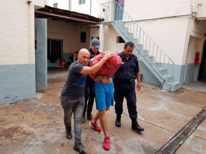 Detienen por robo a un hombre con antecedentes penales por delitos contra la propiedad y las personas