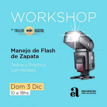 Workshop sobre Manejo de Flash de Zapata con el fotógrafo Emiliano Scaturro