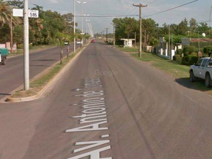 Un motociclista resultó herido en un choque en la Avenida de Tomaso