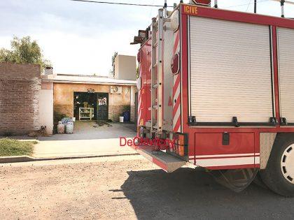 Fueron convocados los Bomberos por un principio de incendio en una vivienda [Video]