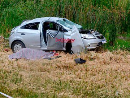 Un muerto en accidente en la Ruta Nº 5