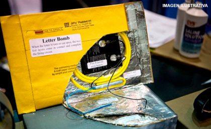 Un vecino de 25 de Mayo recibió por correo un paquete explosivo