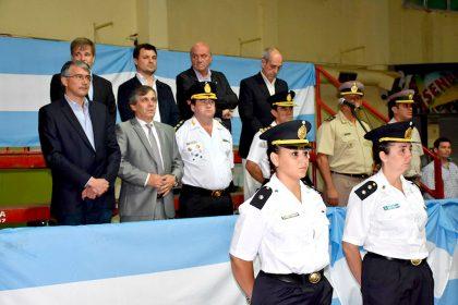 Chivilcoy celebró el acto por el 137º aniversario de la Policía de la Provincia de Buenos Aires