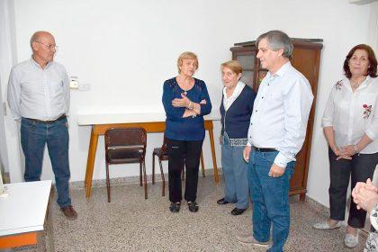 El intendente Britos visitó las instalaciones de ALCEC