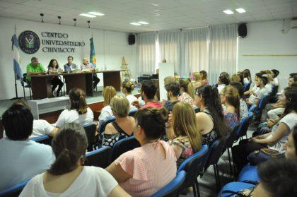 Finalizó el curso de prevención de adicciones de la Universidad Nacional de La Plata en el Centro Universitario