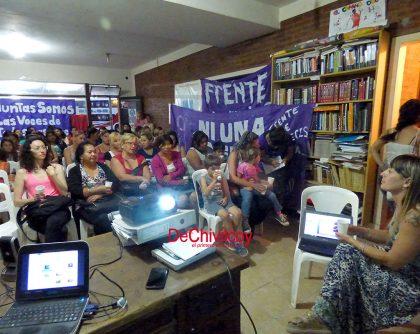 Frente de Mujeres Evita: Comenzó la formación de Promotoras Territoriales en Género