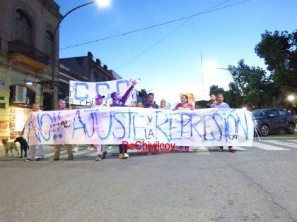 Contra la reforma previsional volvieron las manifestaciones en el centro de Chivilcoy [Video]
