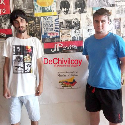 "La JP Evita Chivilcoy lanzó la campaña ""Sumate a Militar"""