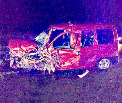 Cuatro vehículos se accidentaron en la Ruta 5 entre Alberti y Mechita