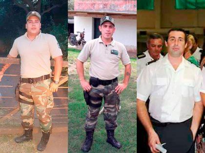 Tres agentes del Comando de Prevención Rural Chivilcoy distinguidos con un Diploma de Honor