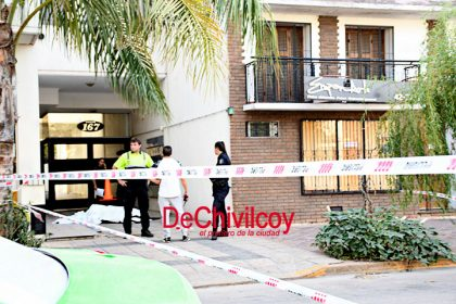 Se suicidó una persona arrojándose desde un edificio