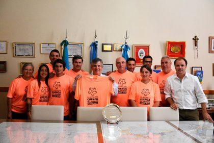 El intendente recibió el 2º puesto obtenido por Chivilcoy en las Olimpiadas de la Cuenca del Salado