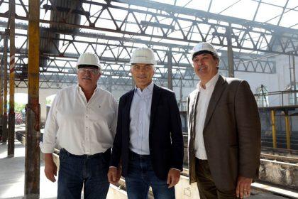 Avanza la puesta en valor del Taller Ferroviario Mechita
