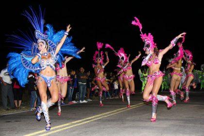 Noche de Carnaval en Palemón Huergo