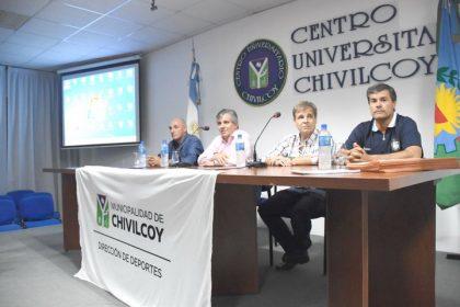 Presentación de la delegación que participará en las Olimpíadas de la Cuenca del Salado