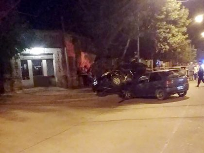 Violenta colisión en Arenales y Avenida Avellaneda