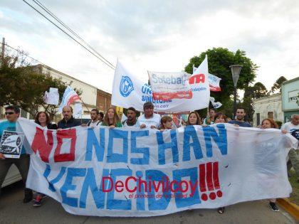 Nunca más: Multitudinaria marcha en Chivilcoy a 42 años del último golpe militar