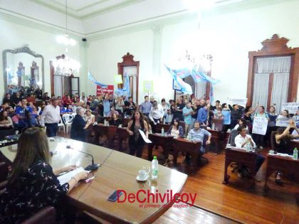 Agitada sesión en el Concejo Deliberante [Video]