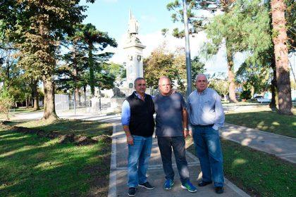 Culminan las obras de refacción en la Plaza Colón