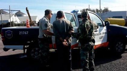 Detuvieron a dos personas con picadura de marihuana en un operativo en la Ruta 5