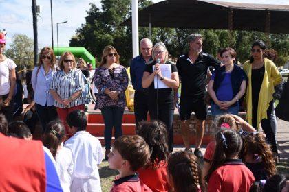 Iniciaron los Encuentros Deportivos Recreativos Distritales de Nivel Inicial y Primario