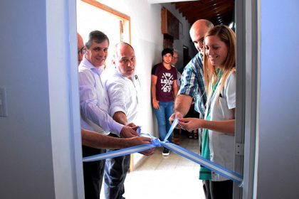 """Fueron inauguradas instalaciones en el Hogar de Ancianos """"San José"""" y en el Hospital de Moquehuá"""