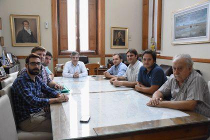 La Asociación de Ingenieros Agrónomos de Chivilcoy y Alberti visitaron al intendente