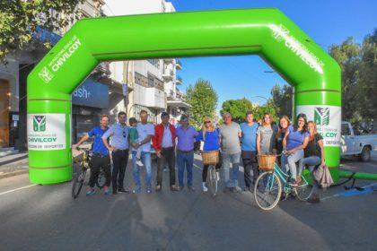 Nueva bicicleteada familiar de Chivilcoy en Bici