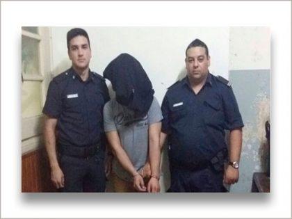 Se dio a la fuga en un control policial, fue perseguido y detenido
