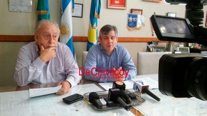 El intendente Britos, junto a Eduardo De Lillo, se refirieron al aumento de las Tasas Municipales [Video]