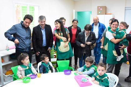 Britos recibió la visita del ministro de Educación quien anunció $15.400.000 para infraestructura escolar